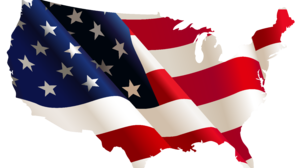 American Flag Flag Map 7066x4506 Wallpaper