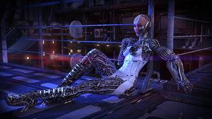 Robot Woman 4327x2340 Wallpaper