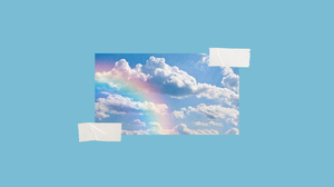 Picture Picture In Picture Tape Sky Blue 1920x1080 wallpaper