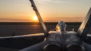 Aircraft Jet Fighter Mcdonnell Douglas Cf 18 Hornet Warplane 4256x2832 Wallpaper