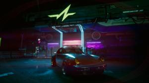 Johnny Silverhand Cyberpunk 2077 Porsche Porsche 911 3840x2160 Wallpaper