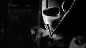 Star Wars General Grievous Star Wars Villains Monochrome 1920x1080 Wallpaper