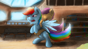 My Little Pony Rainbow Dash Scootaloo My Little Pony 2560x1440 Wallpaper