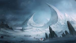 Fantasy Landscape 1669x800 Wallpaper