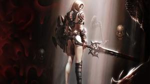Fantasy Women Warrior 2560x2048 Wallpaper