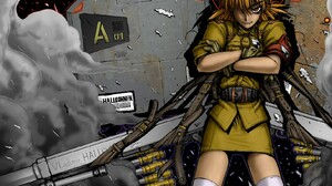 Seras Victoria Hellsing Anime Girls Anime 1566x1200 Wallpaper