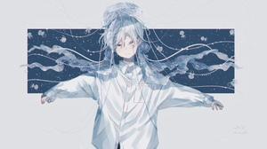 Anime Girls Anime 5588x3368 Wallpaper