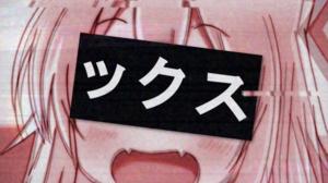 Anime Anime Girls Original Characters Glitch Art 4090x4090 wallpaper