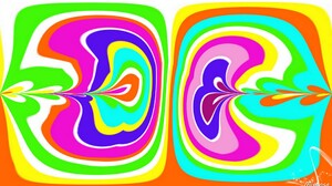 Abstract Colorful Digital Art Shapes 1920x1080 Wallpaper