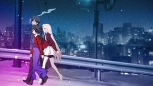 Fate Zero Irisviel Von Einzbern Kara No Ky Kai Kiritsugu Emiya Shiki Ryougi 1920x1080 Wallpaper