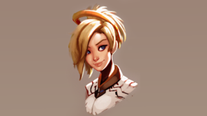Mercy Overwatch Overwatch 1920x1080 Wallpaper