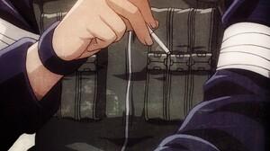 Naruto Shippuuden Naruto Shippuuden Anime Anime Boys Asuma Sarutobi 2007x5800 Wallpaper