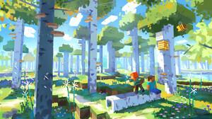 Minecraft Mojang Concept Art 1920x1080 Wallpaper