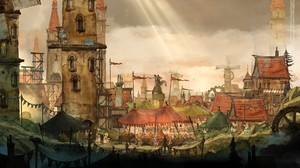 Aurora Child Of Light Ubisoft Video Games 4096x2304 Wallpaper
