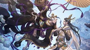 Fantasy Oriental 1920x1440 Wallpaper
