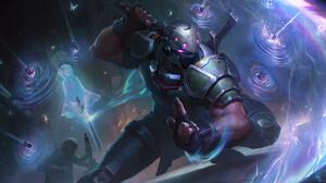 Shen Shen League Of Legends Ninja League Of Legends Riot Games 3840x2160 Wallpaper
