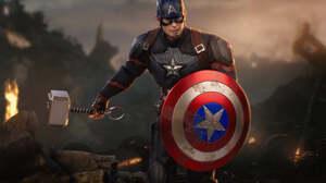Captain America Toy Figurine 2048x1365 wallpaper