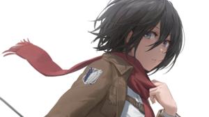 Mikasa Ackerman Shingeki No Kyojin Yohan1754 Anime Girls Black Hair Short Hair 2248x1575 Wallpaper