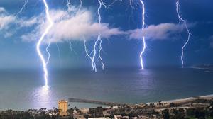 Lightning Thunderstorm 1920x1200 Wallpaper