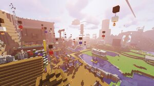 Minecraft Dream Smp Shaders Camper Van House Video Games PC Gaming Screen Shot 1920x1080 Wallpaper
