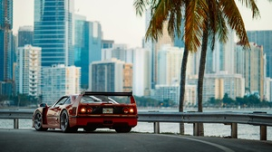 Ferrari F40 Ferrari Car Vehicle Red Car Sport Car Supercar 1920x1280 Wallpaper