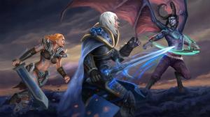 Barbarian Diablo Iii Heroes Of The Storm Illidan Stormrage 3796x2050 Wallpaper
