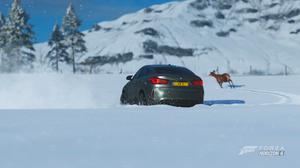 Bmw X6M Winter Snow Forza Horizon 4 Video Game Art Car 3840x2160 wallpaper