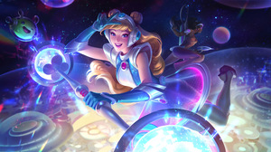 Space Groove Space Sup Support League Of Legends Riot Games League Of Legends Lux League Of Legends  7680x4320 Wallpaper