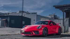 Car Porsche Porsche 911 Porsche 911 Gt3 Red Car Sport Car Vehicle 5804x3870 Wallpaper