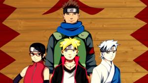 Naruto Sarada Uchiha Mitsuki Naruto Boruto Uzumaki Konohamaru Sarutobi 2542x2242 Wallpaper