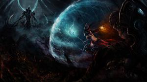 Diablo Iii Reaper Of Souls Malthael Diablo Iii Monk Diablo Iii Wizard Diablo Iii 3000x1823 Wallpaper