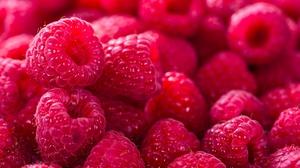 Berry Fruit Raspberry 7360x4517 wallpaper