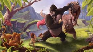 Fantasy King Kong 1600x861 Wallpaper