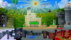 Collage Mario Nintendo Snes Super Mario World Super Nintendo 1920x1080 Wallpaper
