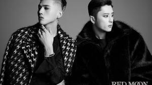 K A R D K Pop Matthew Kim J Seph Men Makeup Monochrome Men Indoors Studio Looking Away Asian Sidecut 1800x1200 Wallpaper