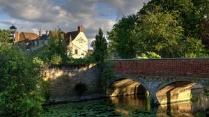 Canal House United Kingdom 2687x1936 Wallpaper