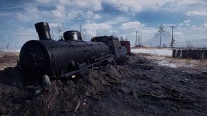 Battlefield 1 Locomotive Snow Train 2560x1440 Wallpaper