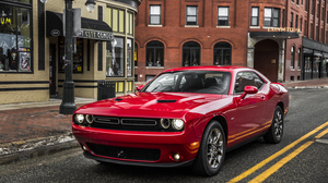 Car Dodge Dodge Challenger Muscle Car Red Car Vehicle 3000x2000 Wallpaper