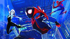 Gwen Stacy Marvel Comics Miles Morales Spider Man 3358x1889 Wallpaper