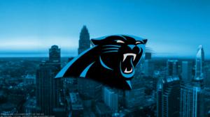 Carolina Panthers Emblem Logo Nfl 1920x1080 Wallpaper