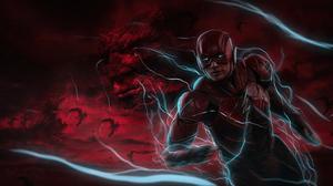 Flash Dc Comics Barry Allen Darkseid Dc Comics 5120x2715 Wallpaper