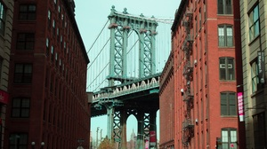 City Bridge Architecture Manhattan Bridge Building New York City Brooklyn 1920x1276 Wallpaper