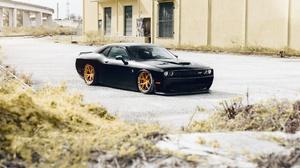 Black Car Car Dodge Dodge Challenger Muscle Car Vehicle 2048x1367 Wallpaper