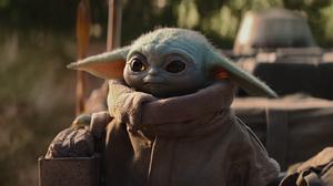 Baby Yoda PSN Cover Picture 3 1 Star Wars The Mandalorian Grogu 2406x802 Wallpaper