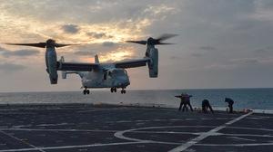 Bell Boeing Bell Boeing V 22 Osprey Helicopter Marines Military Mv 22 Osprey Navy Uss Mesa Verde Veh 1600x1065 Wallpaper
