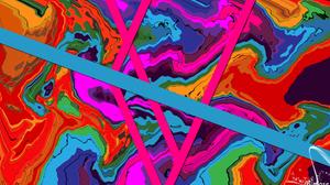 Artistic Digital Art Colors Gradient Colorful 1920x1080 Wallpaper