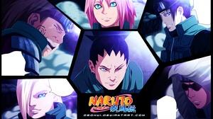 Naruto Ino Yamanaka Ch Ji Akimichi Sakura Haruno Sai Naruto Shikamaru Nara Shino Aburame 3077x1861 Wallpaper