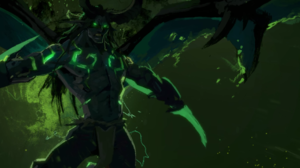 World Of Warcraft Blizzard Entertainment Demon Hunter Illidan Stormrage 3440x1440 Wallpaper