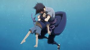 Barefoot Black Hair Boy Itachi Uchiha Naruto Sasuke Uchiha Underwater 2790x1919 Wallpaper
