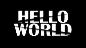 Hello World Quote Typography 2100x1500 Wallpaper